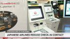 Japanese airlines try no-contact check-in systems