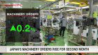 Japan's machinery orders rise for 2nd month