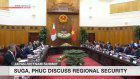 Suga, Phuc discuss regional security