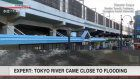 Expert: River in Tokyo could have breached banks