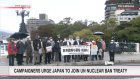 People urge Japan to ratify UN nuclear ban treaty