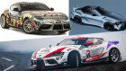 Toyota Teases GR Supra Targa With Removable Top, Art Car And More For Virtual SEMA