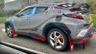 This Toyota C-HR Owner Has Spent A Little Too Much Time Watching The Punisher