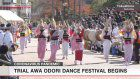 Awa Odori test-staged with social distancing