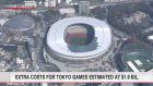 Extra costs for Tokyo Games estimated at $1.9 bil.