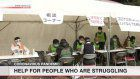Consultations for jobless people held in mid-Tokyo