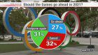 NHK poll: Over 30% want Olympics cancelled
