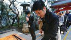 Shrine in Tokyo accepts e-money offerings