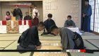 New Year card game competition held in Shiga