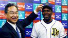 Baseball: Former home run king Rhodes faces long road to Hall of Fame