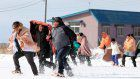 Hawaiians trade beach, surf for snowball fight in northern Japan