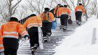 """Center: Learning lessons of """"traditional training"""" in Tochigi avalanche"""