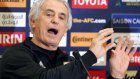 Soccer: Halilhodzic cautions Japan not to think little of Thailand