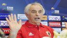 Soccer: Halilhodzic trusts bunch pioneers will wander up against UAE