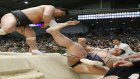 Sumo: Harumafuji hands Kisenosato first thrashing at Spring tourney