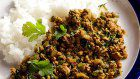 Haruko Dan's lamb and coriander keema curry creation