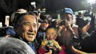 Imprisoned hostile to U.S. base pioneer in Okinawa liberated after 5 months