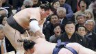 Kisenosato keeps cool, nabs 2nd win