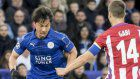 Soccer: Okazaki's Leicester knocked out of Champions League