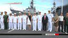 Two Japanese destroyers arrive in Vietnam