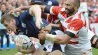 Rugby: Scotland looking to use Nagasaki as base for success