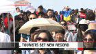 Japan's Foreign tourists top 10 million