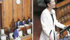 Opposition's 'ox walk' tactic backfires in upper house vote on 'anti-conspiracy' law