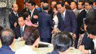 Ruling coalition diverts attention from scandal by ramming 'conspiracy' bill into law