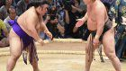 Takayasu wins 3rd straight in Nagoya