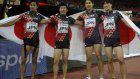 Japan takes aggressive approach to clinch bronze in men's 4x100-meter relay at worlds