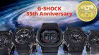 Casio releases the first set of 35th anniversary of G-SHOCK brand- BIG BANG BLACK Collection