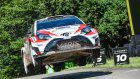 Strong Finish in Germany for Toyota Rally Team
