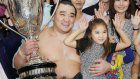 Sumo: Harumafuji savors sweet taste of victory sake after big win