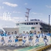 STU48 shoots PV for 'Shukkou' on board a ship