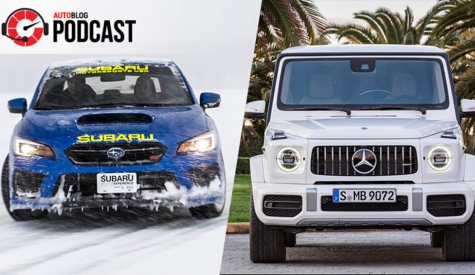 Subaru ice driving and Mercedes-AMG G 63 | Autoblog Podcast #571