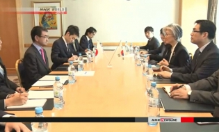 Japan, S.Korea FMs discuss wartime issues