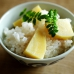Rice and bamboo shoots, sweet yet bitter, heralds arrival of spring