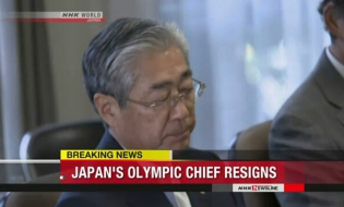 Japan's Olympic chief resigns