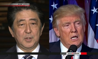 Abe: Trump to present cup to sumo champ