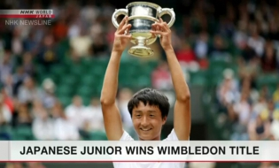 Mochizuki rises to No.1 in junior tennis rankings