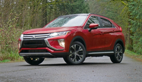 Mitsubishi Eclipse Cross small crossover is an IIHS Top Safety Pick - Autoblog