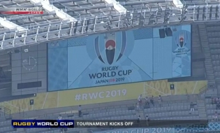 Rugby World Cup kicks off in Japan
