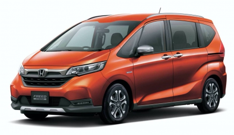 2020 Honda Freed Gets Facelifted In Japan, Gains SUV-Style Crosstar Version