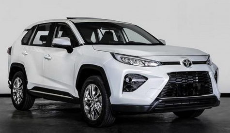 China's Toyota Wildlander Is A RAV4 With Half A Lexus Spindle Grille