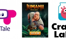 TabTale & Sony Pictures Announce Charlie's Angels and Jumanji's Mobile Games