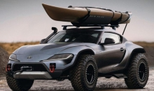 Check Out The Toyota Supra Reimagined As A 4×4 Vehicle