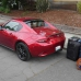 2020 Mazda MX-5 Miata Luggage Test | How much fits in the trunk?