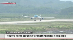 Travel from Japan to Vietnam partially resumes