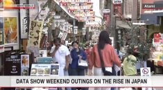 Travel within Japan rises after restrictions eased