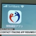 Japan's contact-tracing app resumes service